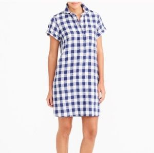 J. Crew Gingham Shirt Dress, XXS